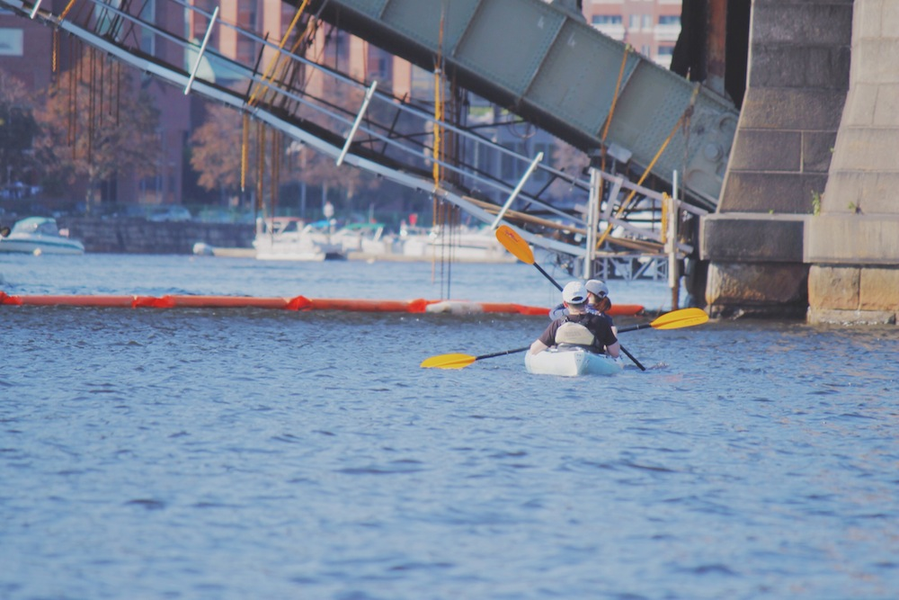 kayak Boston ducks tour