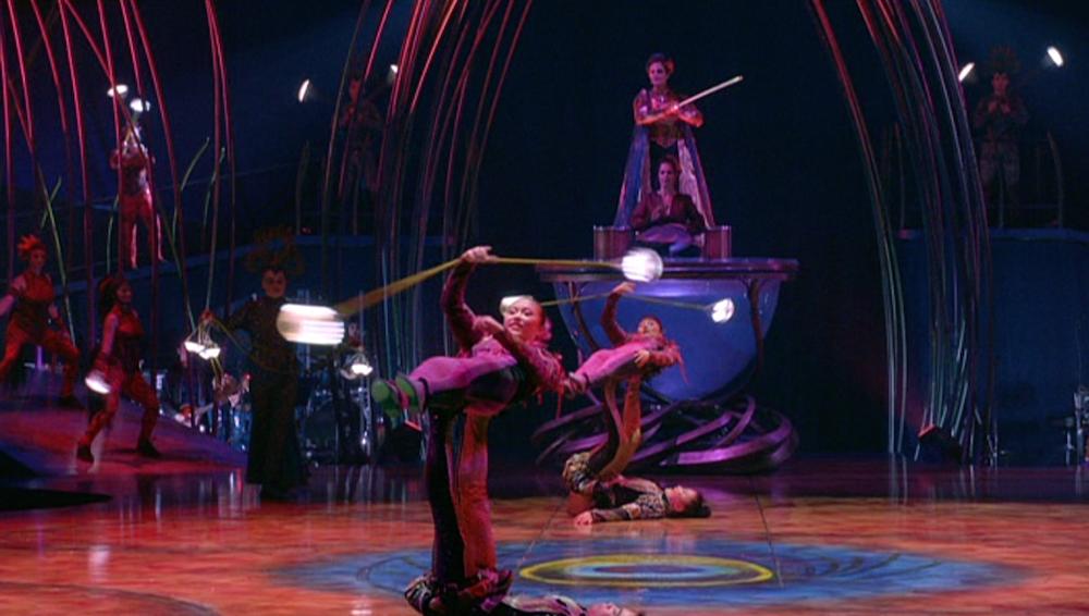 les Météores d'eau Amaluna (c) Cirque du Soleil All Rights reserved