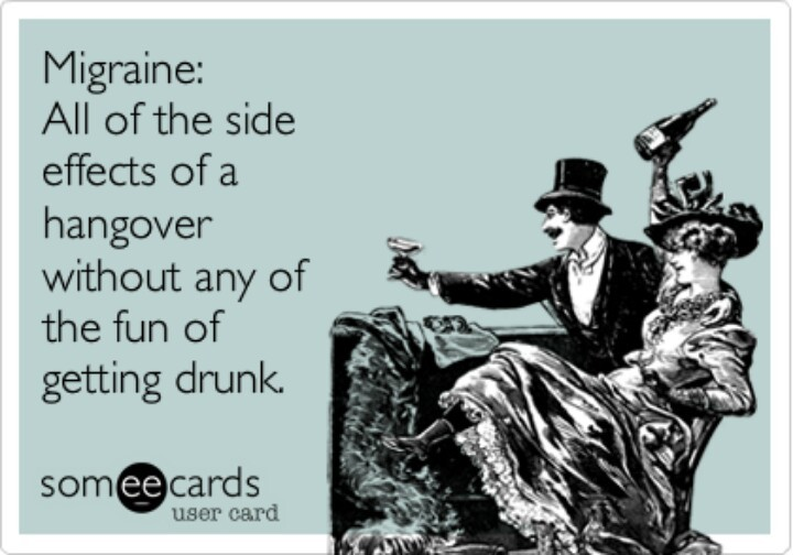 migraine someecards