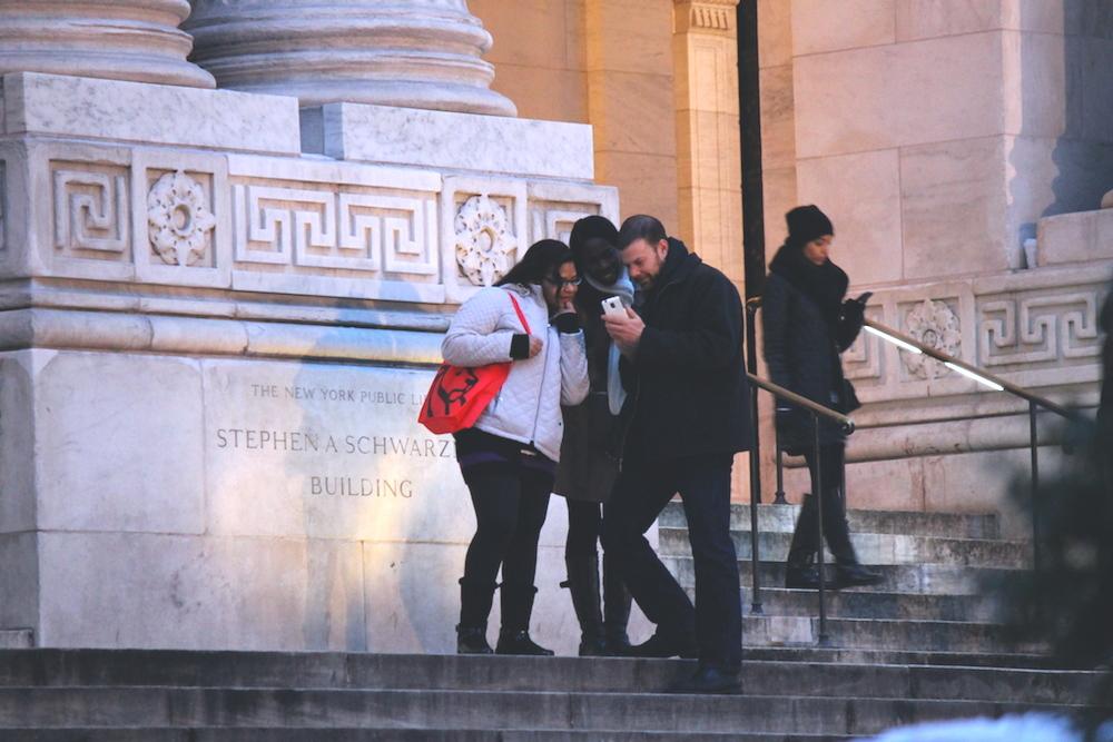 selfie update nyc public library (c) CG www.hejyou.be