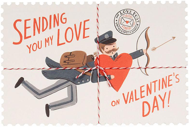 sending love valentine's day card paper source