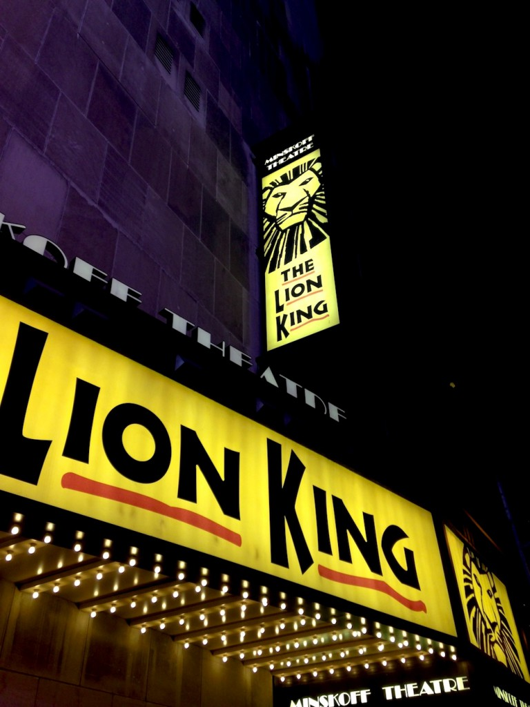 the lion king broadway (c) CG ww.hejyou.be