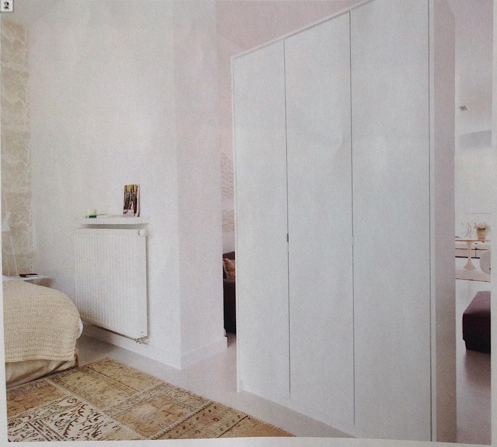 armoire séparer piece deco mireille Roobaert