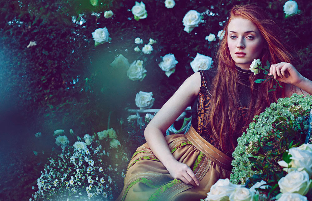 sophie turner shooting town&country