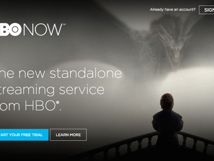 HBO NOW Capture d'écran